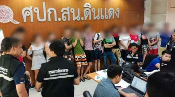 Almost 400 foreigners working in trade Arrested. The Department of Employment has begun to search for foreigners illegally working in the trading business