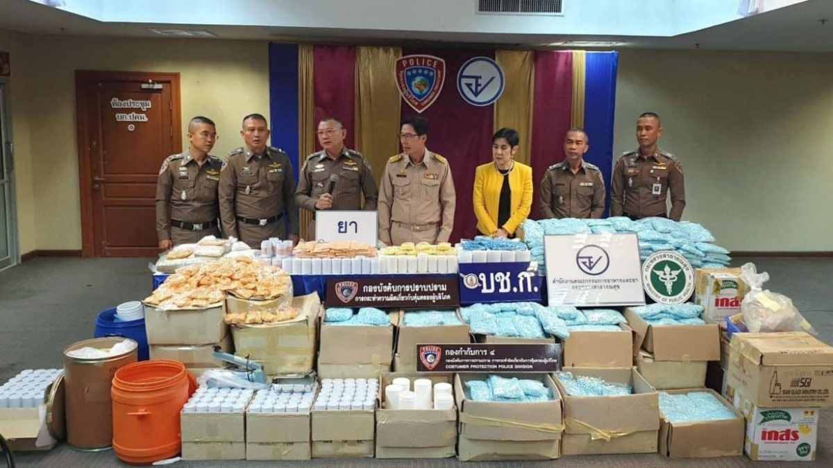 Fake drugs now dominating Thailand