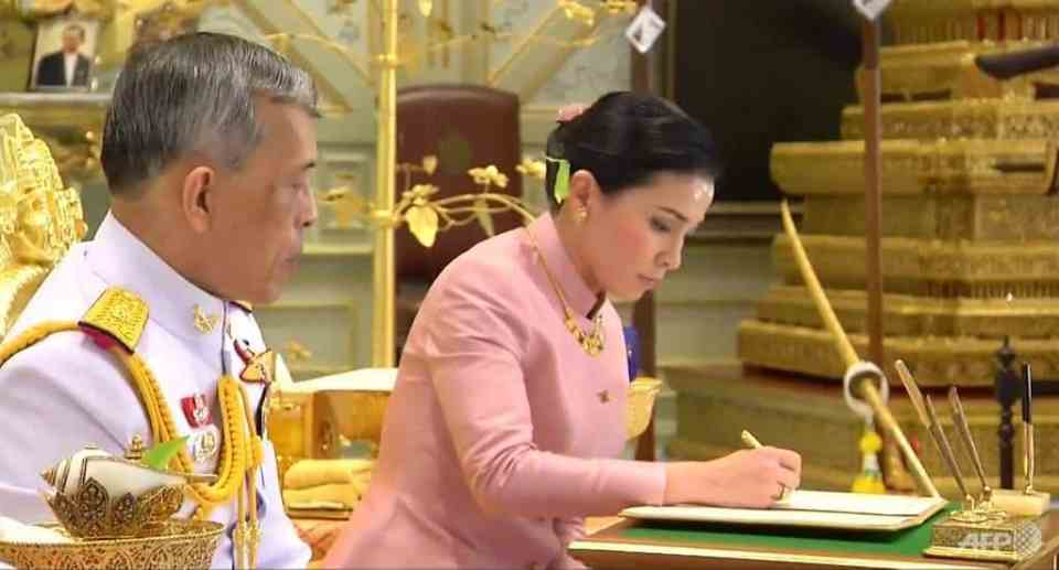 From flight attendant to royalty, the rise of the queen. Thailand's lese-majeste laws have shielded the king, who had spent much of his time in Germany,