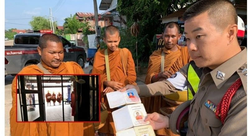 Three monks deported to Cambodia after complaints of donation pressures. Police deported three monks back to their home country of Cambodia this