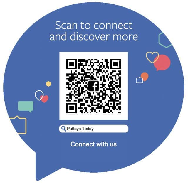 facebook QR scan connect Pattaya Today