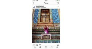 Concern over yoga teacher's poses at sacred sites. A Mexican yoga teacher from Canada is being criticised for photos she posted on Instagram showing