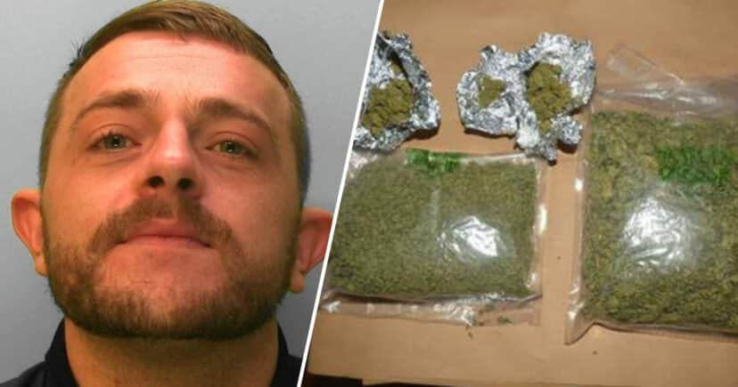 Dealer Caught After Stamping His Nickname On Drugs