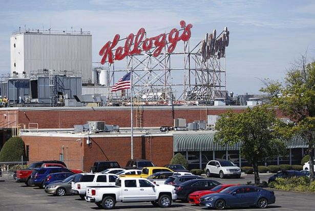 Kellogg's factory worker filmed urinating into product