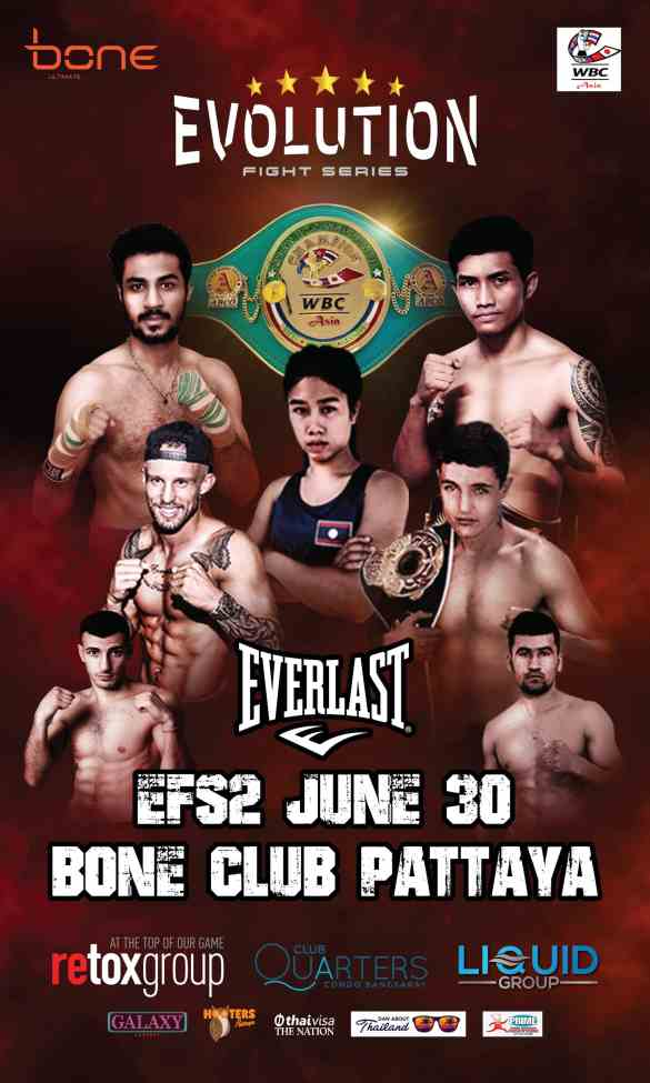 everlast evolition fight series asian boxing professional pattaya chonburi thailand