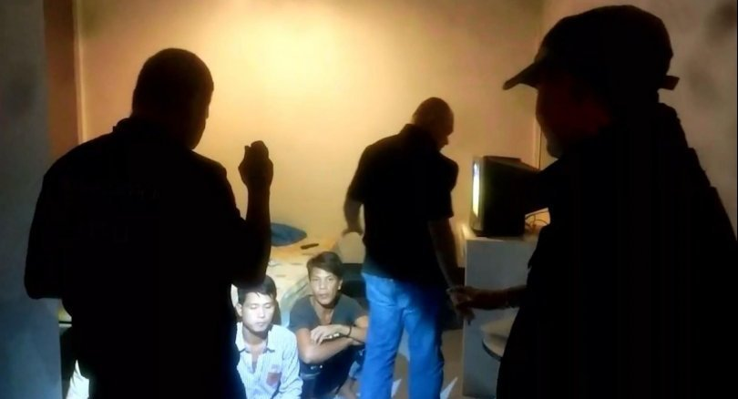 Thai trafficker and 21 undocumented Myanmar migrants arrested in Songkhla