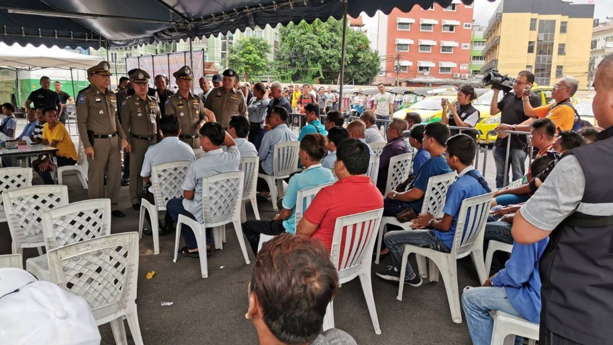 81 cabbies held for breaking laws