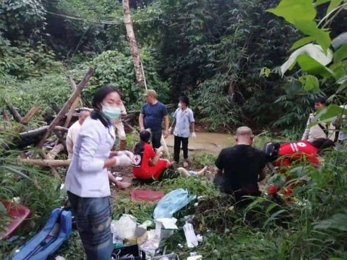 13 Chinese Killed as Tour Bus Crashes in Laos