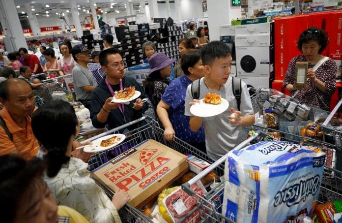 Costco Opens First Store on Chinese Mainland
