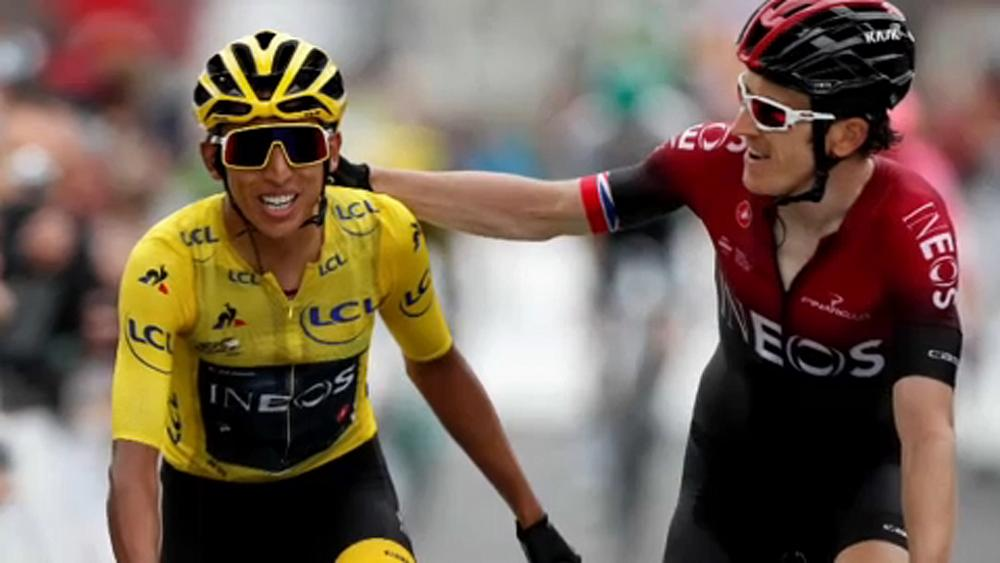 Bernal to win the Tour de France