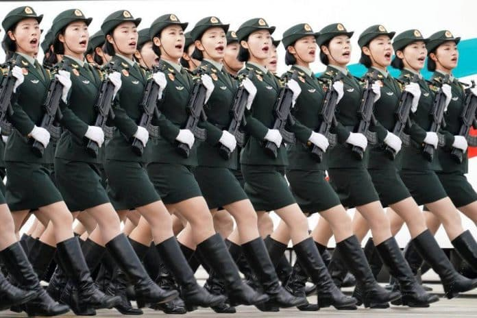 Military Parade Will be Rare Look at China's Arms, Ambitions
