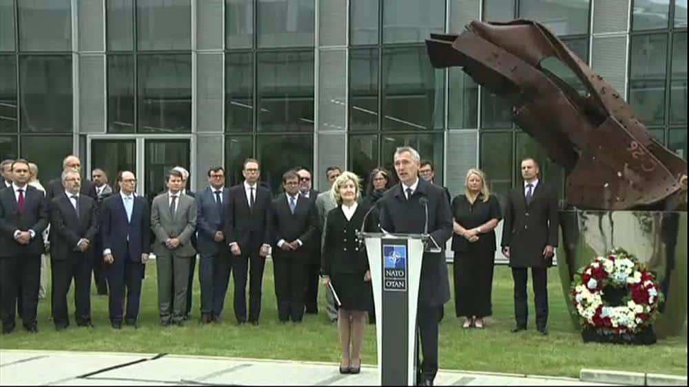 NATO remembers September 11 terrorist attacks, 18 years on