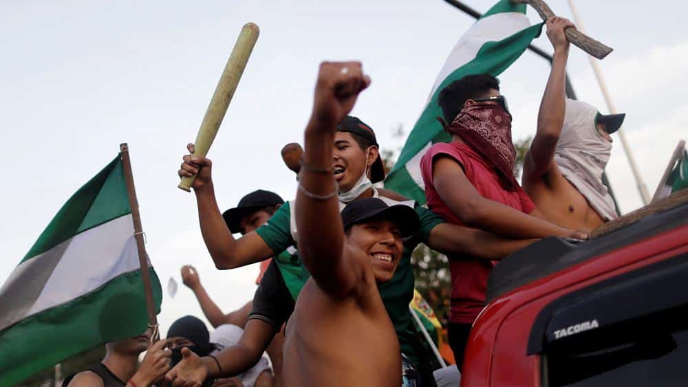 Bolivia's Morales 'wins outright majority' with 99.9% of votes counted