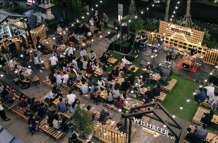 'Winter Beer Garden' Opens Opposite CentralWorld