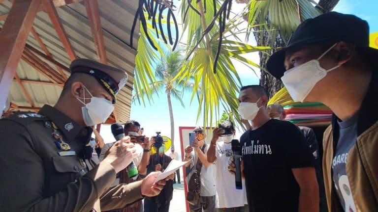 Protests against Prime Minister Prayut Chan-O-Cha Pattaya by Thai Mai Thon group
