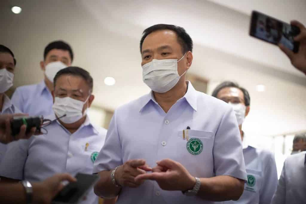 Will Thailand's reopening take place Minister Health doubts