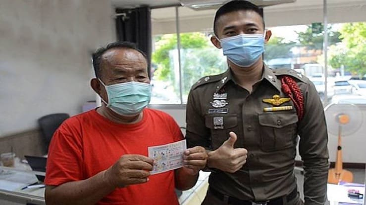 Thai man wins 12 million baht Thai state lottery asks ex-wife stay far away possible
