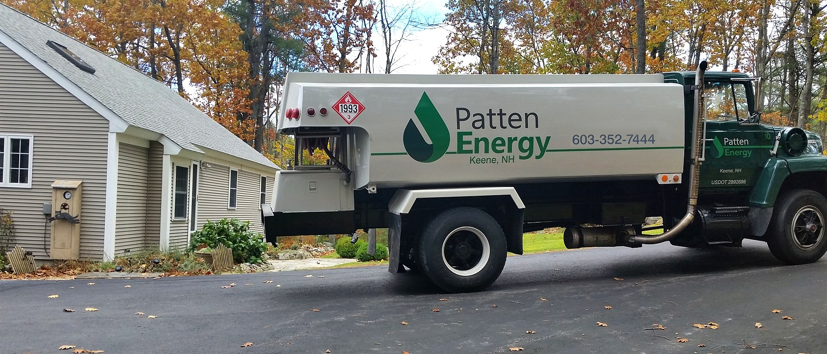 Contact Us for a Delivery from Patten Energy