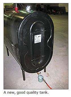 A new, good quality tank.