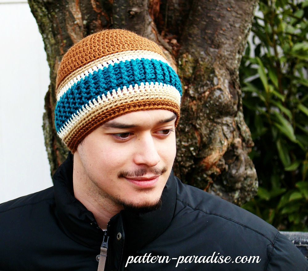 Free Crochet Pattern - Northern Stripes Beanie | Pattern Paradise