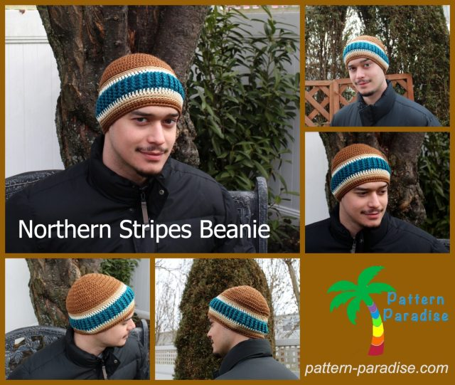 Free Crochet Pattern - Northern Stripes Beanie  fe3d24bedd