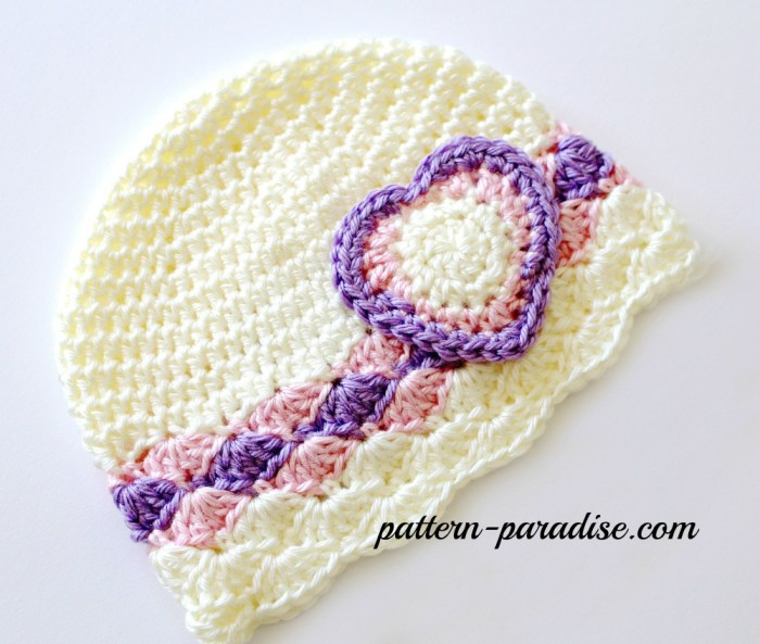 Free Crochet Pattern With Love and Olympic Spirit on Pattern-Paradise.com