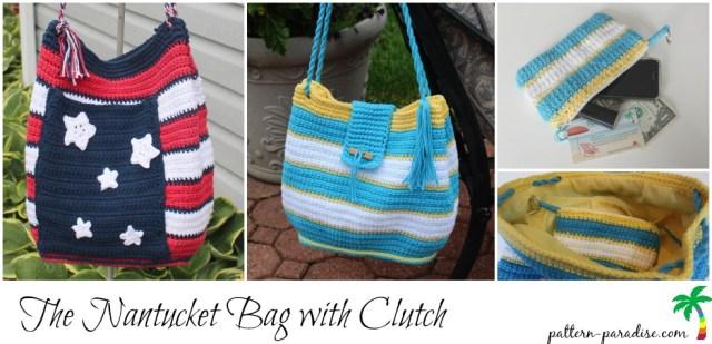 Crochet Pattern Nantucket Bag on Pattern-Paradise.com