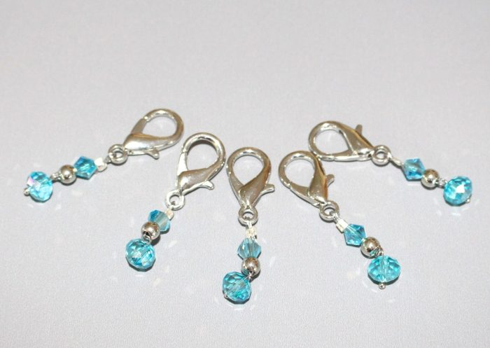 Beaded Stitch Markers by Pattern-Paradise.com