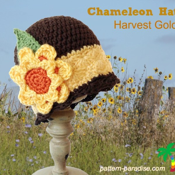 FREE Crochet Pattern – Harvest Gold