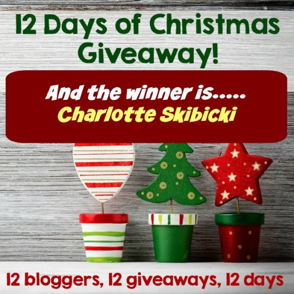 12 Days of Christmas Giveaway Winner!