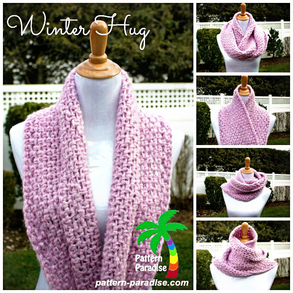 Free Crochet Pattern Winter Hug