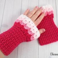 Sweetheart Hand Warmers by Charmed By Ewe