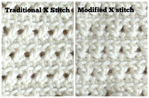 Traditional vs Modified XStitch