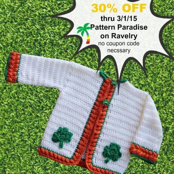 Crochet Pattern – Sweater Sale!