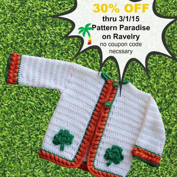 Crochet Pattern – Sweater Sale!