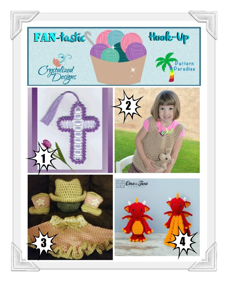 FAN-tastic Hook-Up Link Party #25 by Pattern-Paradise and Crystalized-Designs