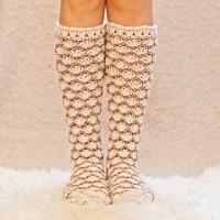 Honeycomb Socks by Mon Petit Violon