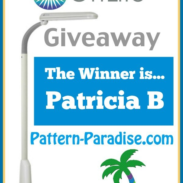 OttLite Giveaway at Pattern Paradise – Winner