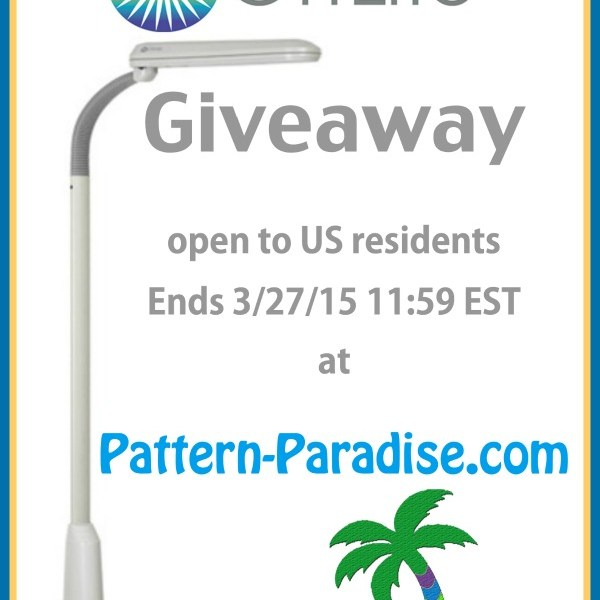OttLite Giveaway at Pattern Paradise