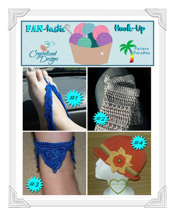 FAN-tastic Hook-Up Link Party #30 on Pattern-Paradise.com