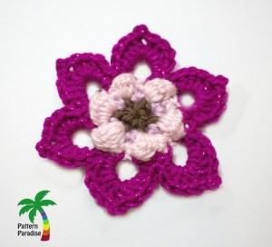 Fancy Flower Layer 1 2882