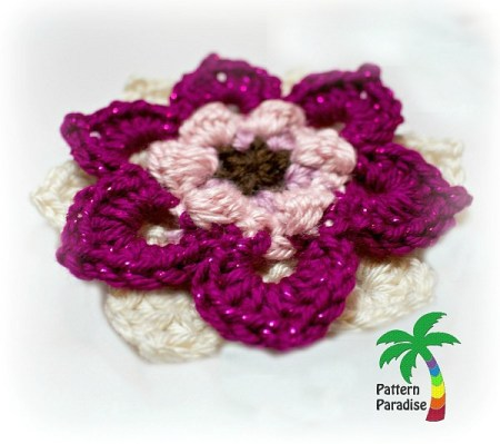 Fancy Flower by Pattern-Paradise.com 2889