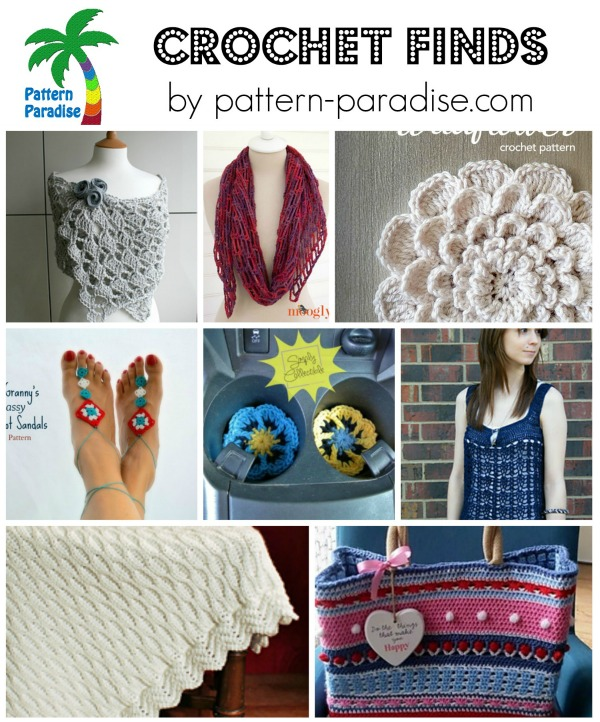 Crochet Finds 5-11-15 by Pattern-Paradise.com