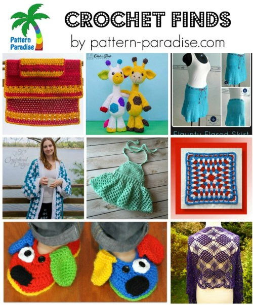 Crochet Finds 5-18-15 on Pattern-Paradise.com