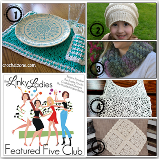 Linky Ladies Community Link Party on Pattern-Paradise.com -- Come see all the fabulous crochet projects! #crochet #Linkparty