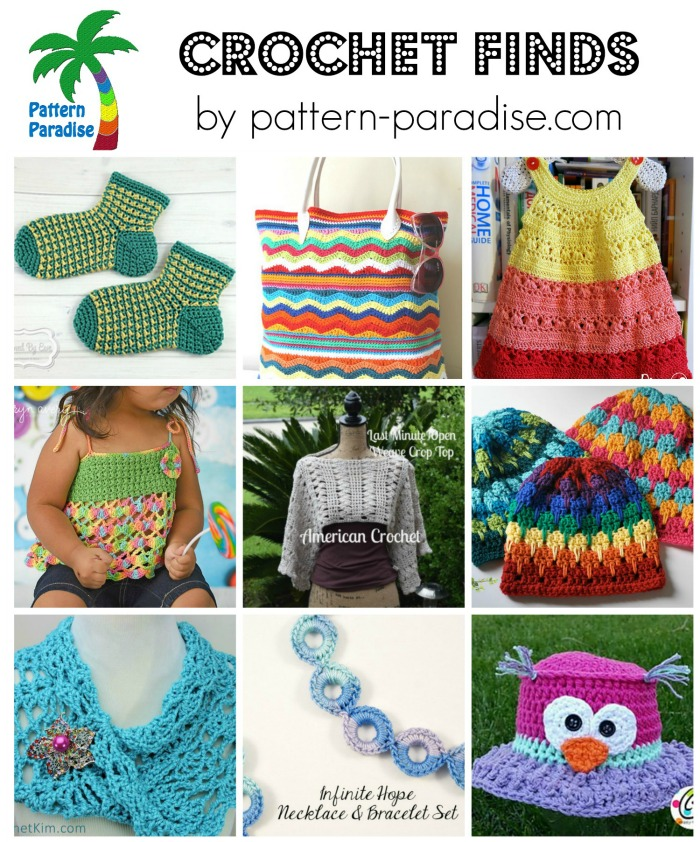 Crochet Finds 6-22-15 on Pattern-Paradise.com