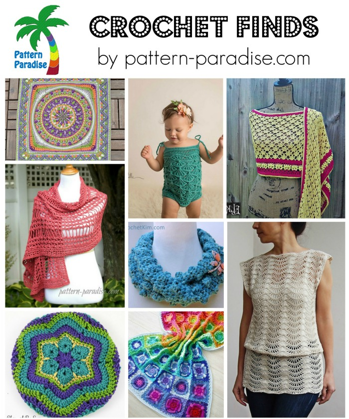 Crochet Finds 6-8-15 on Pattern-Paradise.com