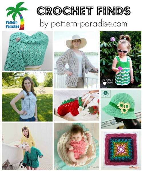 Crochet Finds on Pattern-Paradise.com 6-15-15