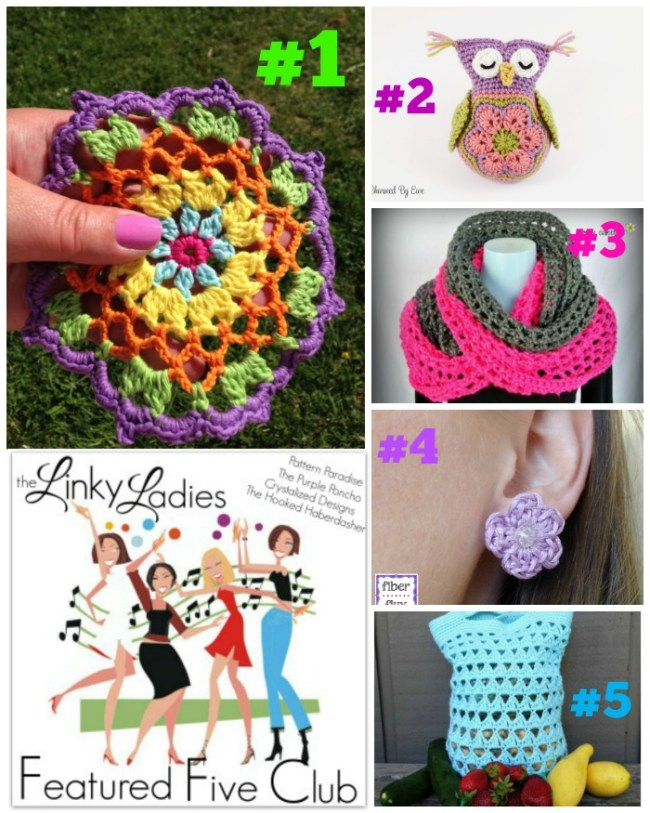 Linky Ladies Crochet Link Party on Pattern-Paradise.com