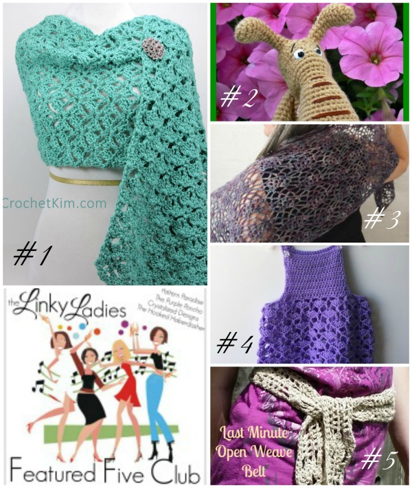 Linky Ladies Link Party #7 on Pattern-Paradise.com